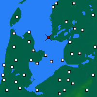 Nearby Forecast Locations - Stavoren - Map