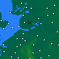 Nearby Forecast Locations - Marknesse - Map