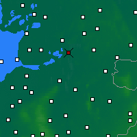 Nearby Forecast Locations - Meppel - Map