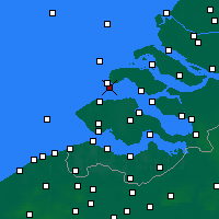 Nearby Forecast Locations - Burgh-Haamstede - Map