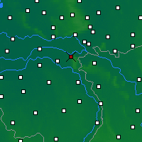 Nearby Forecast Locations - Nijmegen - Map