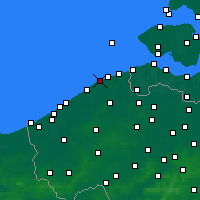 Nearby Forecast Locations - Blankenberge - Map