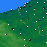 Nearby Forecast Locations - Poperinge - Map