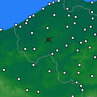 Nearby Forecast Locations - Roeselare - Map