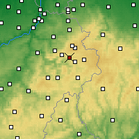 Nearby Forecast Locations - Malmedy - Map