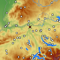 Nearby Forecast Locations - Beznau - Map