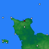 Nearby Forecast Locations - Vigite du Haumet - Map