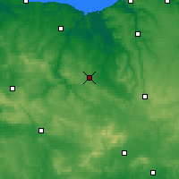 Nearby Forecast Locations - Falaise - Map