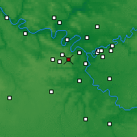 Nearby Forecast Locations - Vélizy-Villacoublay - Map