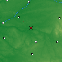 Nearby Forecast Locations - Romorantin-Lanthenay - Map