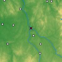 Nearby Forecast Locations - Nevers - Map