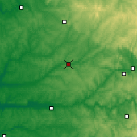 Nearby Forecast Locations - Périgueux - Map