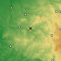 Nearby Forecast Locations - Limoges - Map
