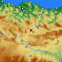 Nearby Forecast Locations - Vitoria-Gasteiz - Map