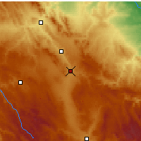 Nearby Forecast Locations - Calamocha - Map