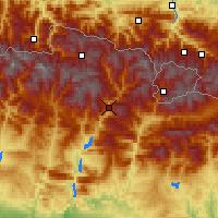 Nearby Forecast Locations - Sort - Map