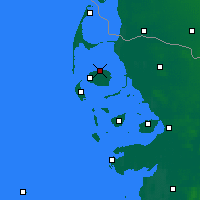 Nearby Forecast Locations - North Frisian Islands - Map