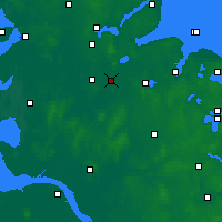 Nearby Forecast Locations - Rendsburg - Map