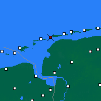 Nearby Forecast Locations - Norderney - Map
