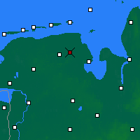 Nearby Forecast Locations - Jever - Map