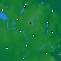 Nearby Forecast Locations - Feldberg - Map