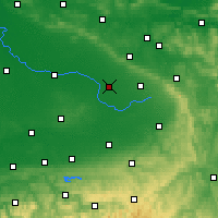 Nearby Forecast Locations - Gütersloh - Map