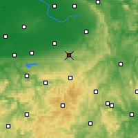 Nearby Forecast Locations - Büren - Map