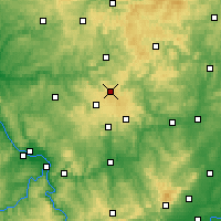 Nearby Forecast Locations - Siegerland - Map