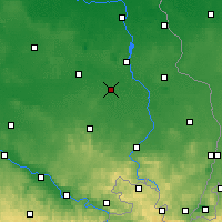 Nearby Forecast Locations - Hoyerswerda - Map
