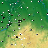 Nearby Forecast Locations - Würselen - Map