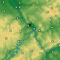 Nearby Forecast Locations - Neuwied - Map