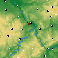Nearby Forecast Locations - Andernach - Map