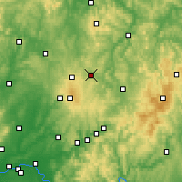 Nearby Forecast Locations - Lauterbach - Map