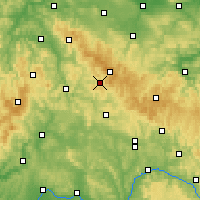 Nearby Forecast Locations - Suhl - Map