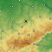 Nearby Forecast Locations - Chemnitz - Map