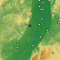 Nearby Forecast Locations - Landau - Map