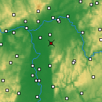 Nearby Forecast Locations - Geisenheim - Map