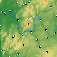 Nearby Forecast Locations - Spessart - Map