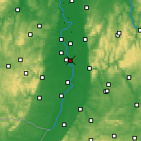 Nearby Forecast Locations - Neuostheim - Map