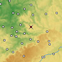 Nearby Forecast Locations - Kaisersbach - Map