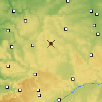 Nearby Forecast Locations - Feuchtwangen - Map