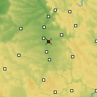 Nearby Forecast Locations - Nuremberg - Map