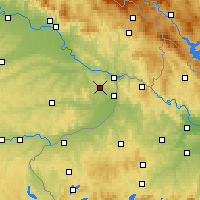 Nearby Forecast Locations - Fürstenzell - Map