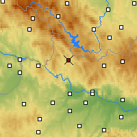 Nearby Forecast Locations - Rohrbach - Map