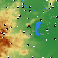 Nearby Forecast Locations - Eisenstadt - Map