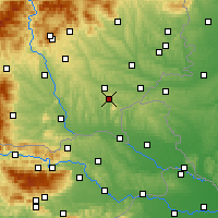 Nearby Forecast Locations - Bad Gleichenberg - Map