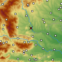 Nearby Forecast Locations - Leibnitz - Map