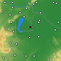 Nearby Forecast Locations - Andau - Map