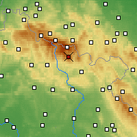 Nearby Forecast Locations - Krkonoše - Map