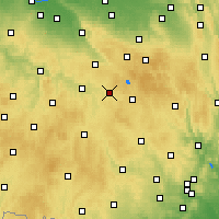 Nearby Forecast Locations - Přibyslav - Map